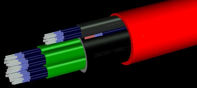 Использование трубы из PE-RT для прокладки кабеля
